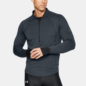 Bluza UA CG Reactor Run Half Zip 1304578 008