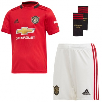 Komplet adidas Manchester United FC Home Mini DX8950