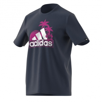 Koszulka adidas Men Vacation RDY Sunset Tee GL3234