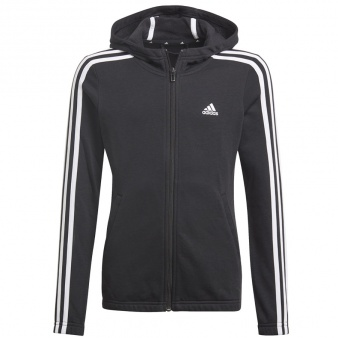 Bluza adidas Girls Essentials 3S Full-zip Hoodie GQ8356