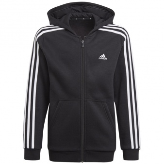 Bluza adidas Boys Essentials 3S Full-zip Hoodie GQ8900