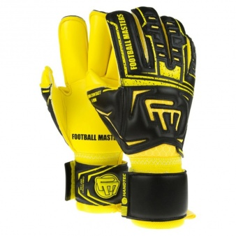 0ab19dab47f76 Rękawice bramkarskie FM Clima Black Yellow Contact Grip 4 MM RF v 2.0. Football  Masters