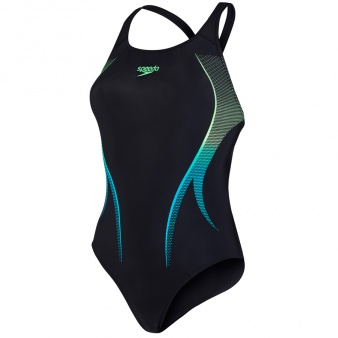 Kostium kąpielowy Speedo Fastdive Placement Powerback