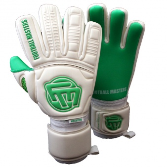 Rękawice FM Full Green Contact Grip Protecion Roll Finger