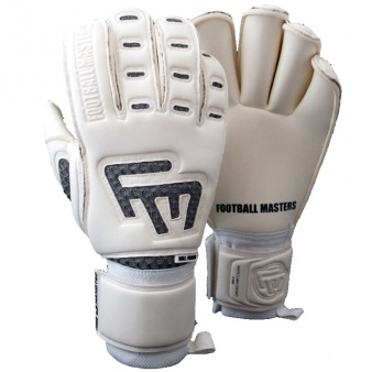 5fd094c166531 Rękawice FM White Clima Contact Grip RF Junior S445746. Football Masters
