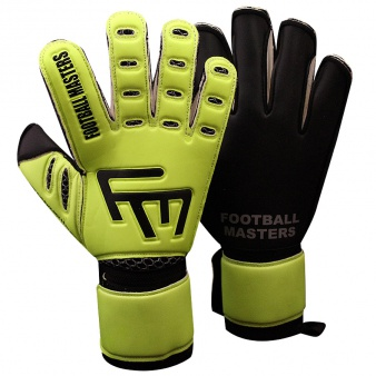 Rękawice FM Training Fluo Black Aqua RF Junior S470673
