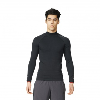 Koszulka adidas Techfit Heat Long Sleeve Mock S94386